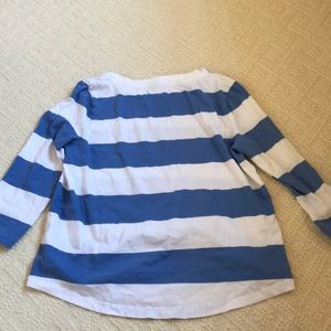 COS Tops - NWOT Blue and White Striped Top